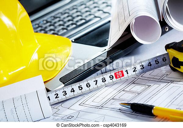 ingenjörsvetenskap, objekt - csp4043169