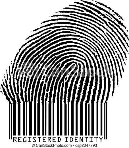 ingeschreven, identiteit - csp2047793