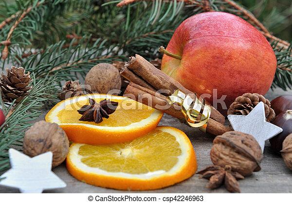 ingredient for holidays dessert - csp42246963