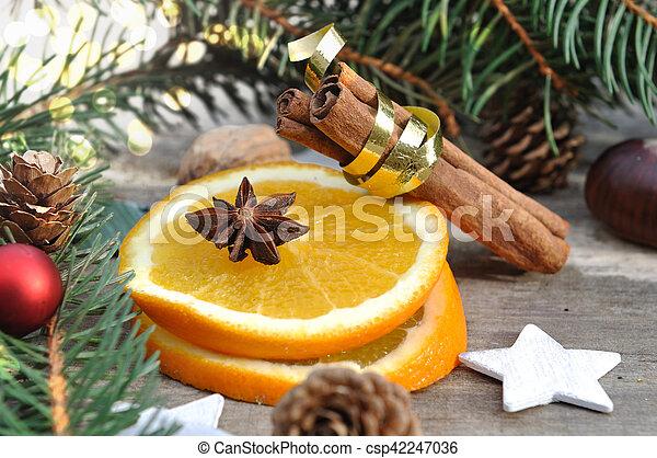 ingredient for holidays dessert - csp42247036