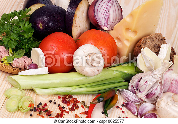 Ingredients of Simple Meals - csp10025577