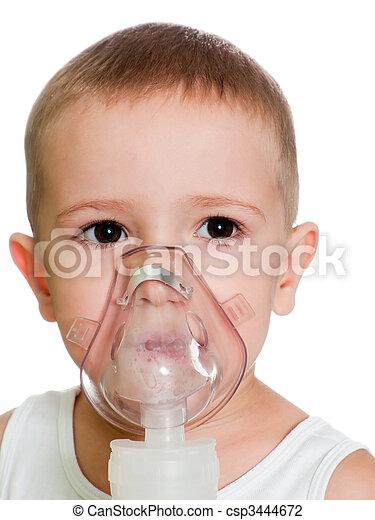 Inhaling mask - csp3444672