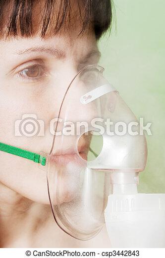Inhaling mask - csp3442843