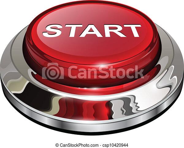 Botón de arranque - csp10420944