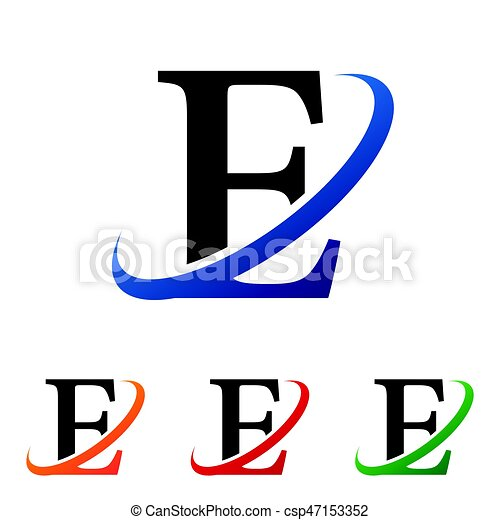 simple initial letter e swoosh logo vector clipart vector search rh canstockphoto com letter a clipart letter a clip art images