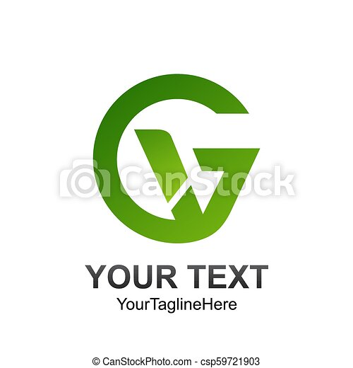 Initial letter gv logo template colored green design for business initial letter gv logo template colored green design for business and company identity csp59721903 flashek Images