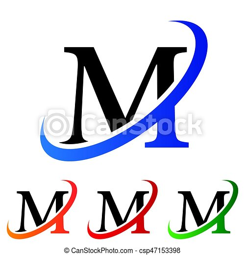 simple initial letter m swoosh logo vector eps vectors search clip rh canstockphoto com basketball swoosh clipart swoosh clipart free download