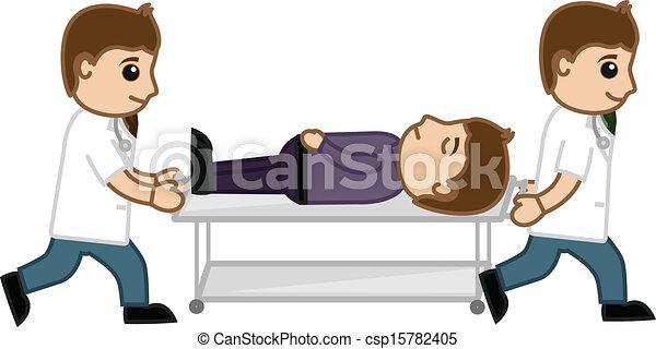Injured Patient - Emergency Case - csp15782405