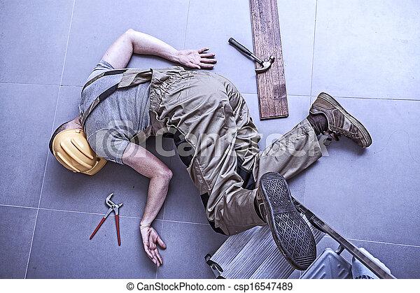 Injured worker  - csp16547489