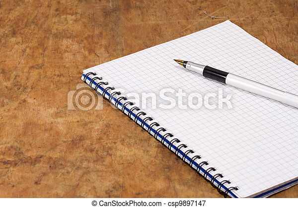ink pen on pad - csp9897147