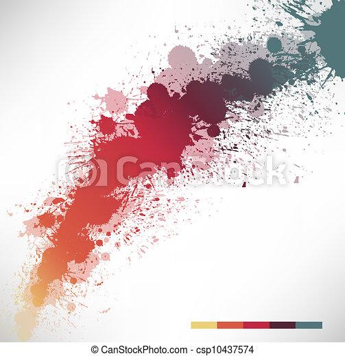 Ink Splash - csp10437574