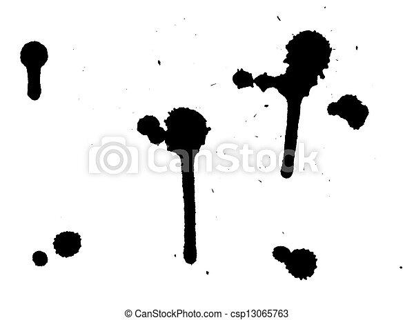 Ink Splashes - csp13065763