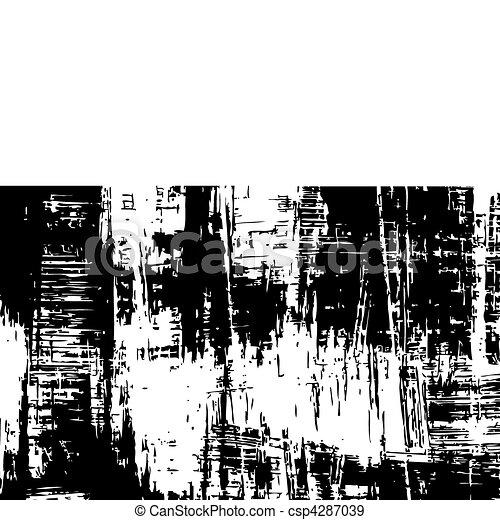 Ink splat banner - csp4287039
