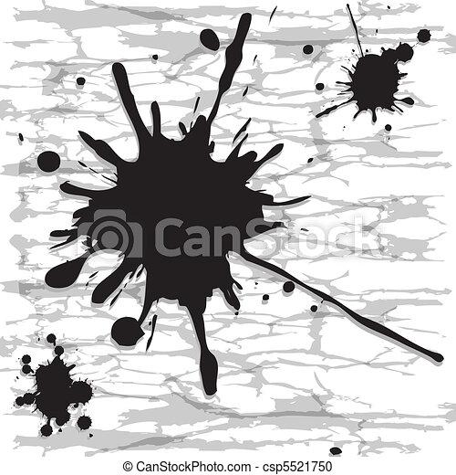 Ink spots - csp5521750