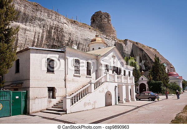 Inkerman Cave Monastery Sevastopol