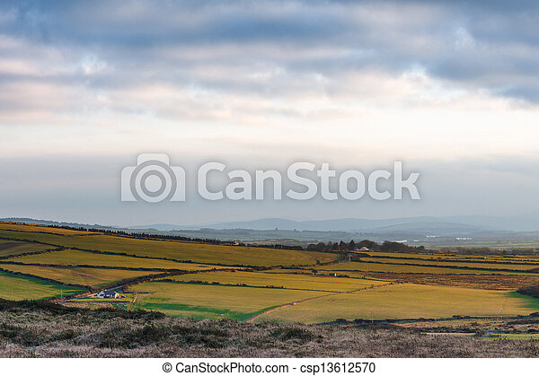 Inland view from Great Sugarloaf - csp13612570