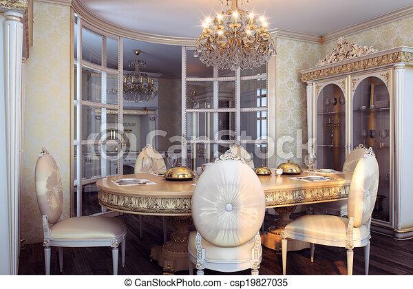 Inneneinrichtung, barock, königlich, möbel.... Zeichnungen - Suche ...