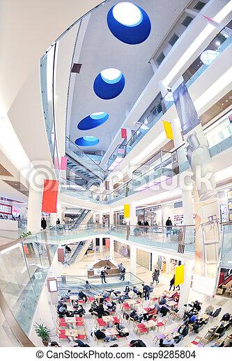 inneneinrichtung, einkaufszentrum, shoppen - csp9285804