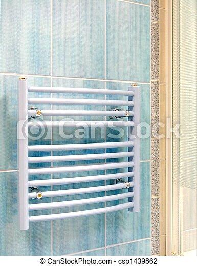 Inneneinrichtung, heizung, badezimmer, -