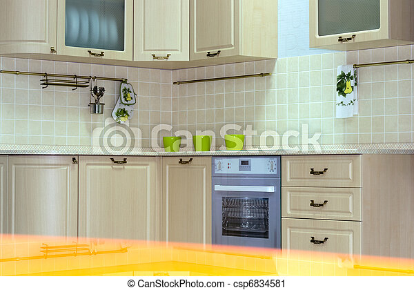 Klassische Küche - csp6834581