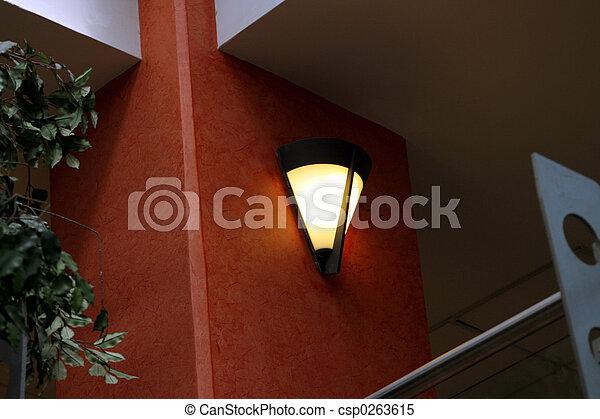 inneneinrichtung, licht - csp0263615