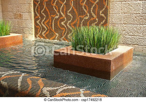 Inneneinrichtung modern design innen wasserfall for Inneneinrichtung modern
