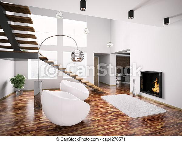 Inneneinrichtung modern kaminofen treppenaufgang 3d for Inneneinrichtung modern