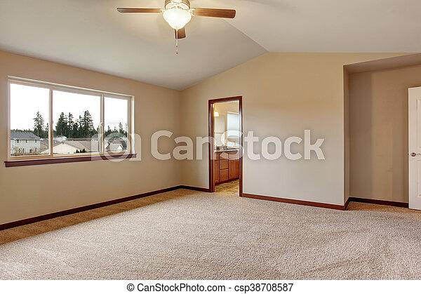 Inneneinrichtung Teppich Zimmer Leerer Boden Tur