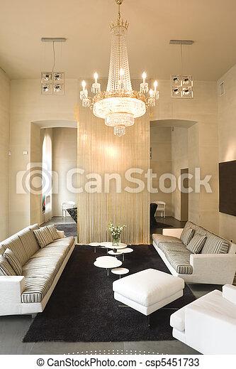 Inneneinrichtung, Wohnzimmer   Csp5451733