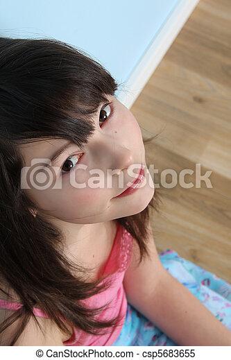 Very valuable Innocent cute teen girl facial