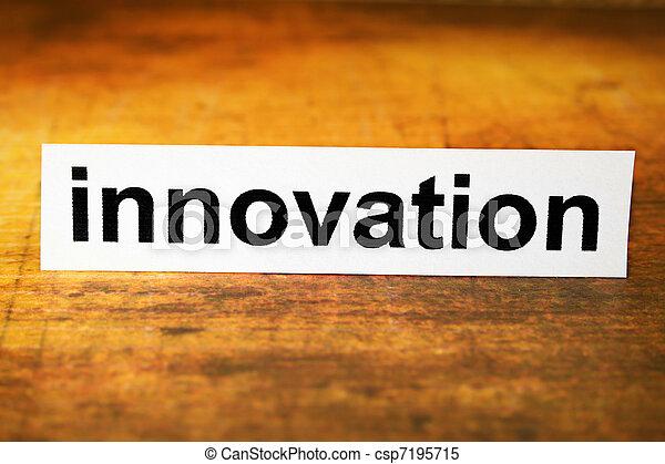 Innovación - csp7195715