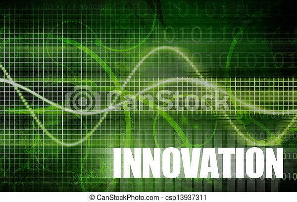 Innovación - csp13937311