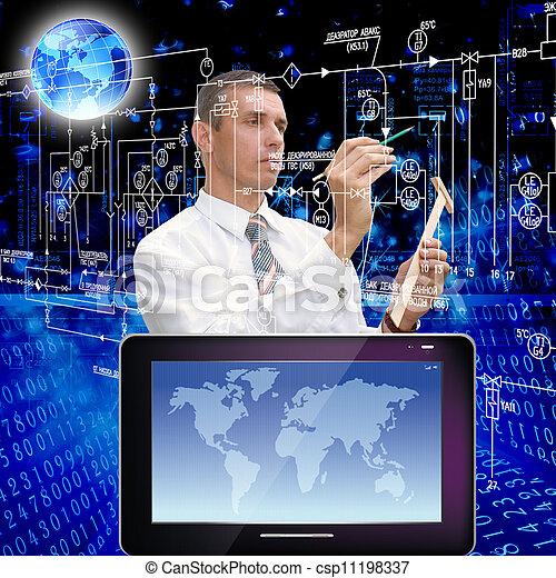 Computadoras innovadoras - csp11198337