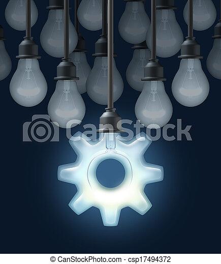 Innovation Ideas - csp17494372