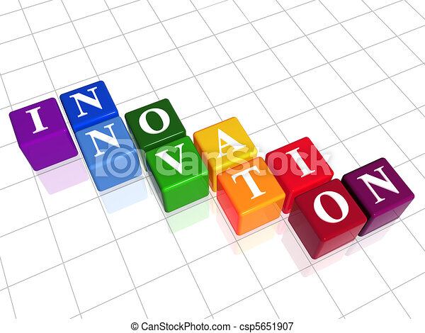 innovation in colour - csp5651907