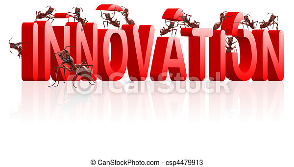 innovation research and invent - csp4479913