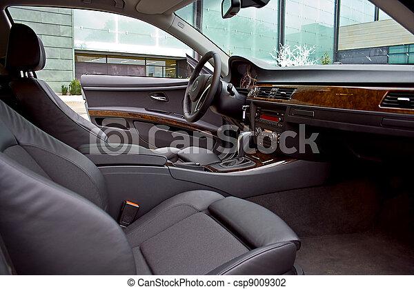 inre, bil, lyxvara - csp9009302