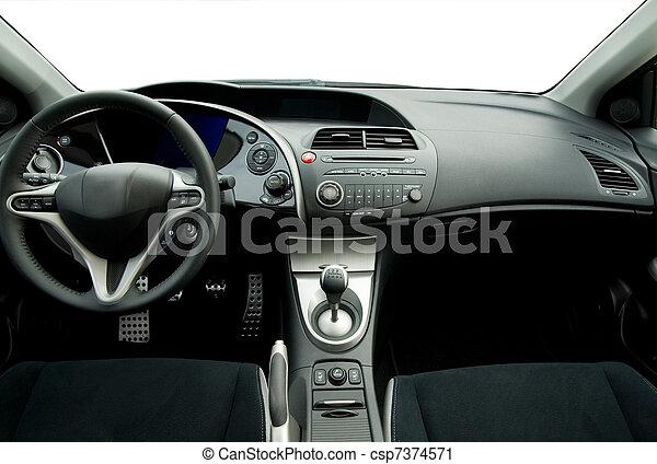inre, bil, nymodig, sport - csp7374571