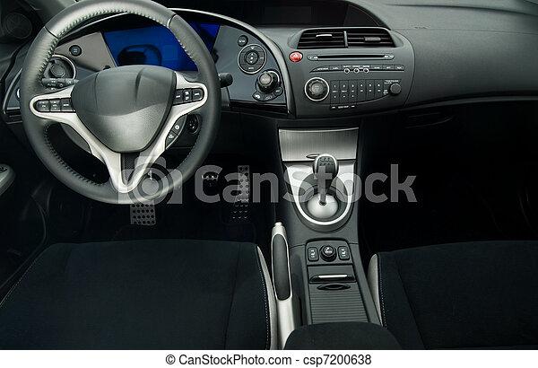 inre, bil, nymodig, sport - csp7200638