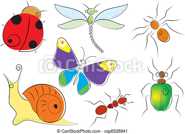 Insects - csp6528941