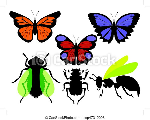 vector illustrations of insects vector clipart search illustration rh canstockphoto com insect clipart insect clip art images