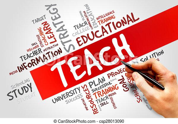insegnare - csp28013090