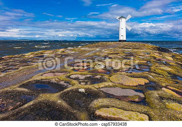 Insel Polen Swinemuende Usedom Maulwurf Maulwurf Insel