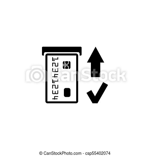insert credit card icon shopping sign bank atm symbol Funny ATM Clip Art Funny ATM Clip Art