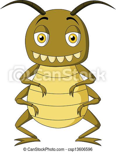 inseto, caricatura - csp13606596
