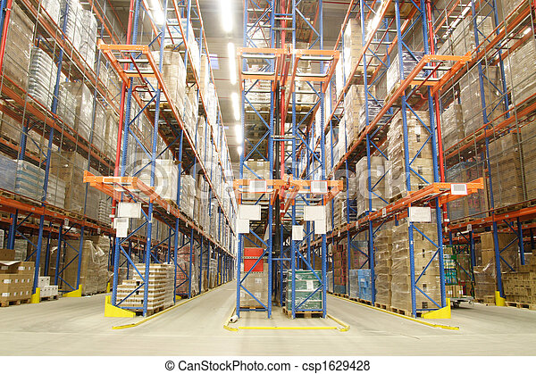 inside of warehouse - csp1629428