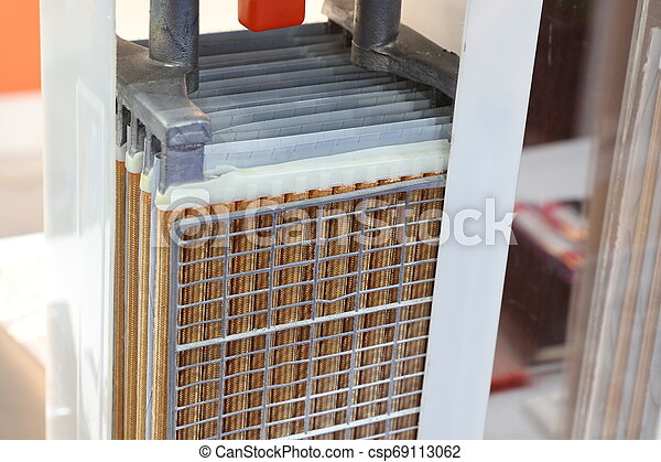 inside or cross section of industrial battery - csp69113062