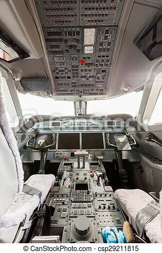 Inside view Cockpit G550 - csp29211815