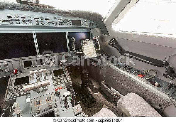 Inside view Cockpit G550 - csp29211804