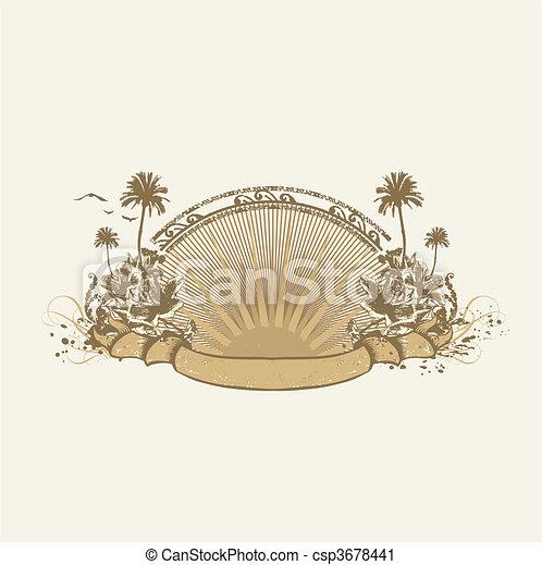 insigne, exotique - csp3678441